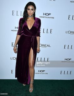 Shay Mitchell arrives at the 23rd Annual ELLE Women In Hollywood Awards at Four Seasons Hotel Los Angeles at Beverly Hills on October 24, 2016 in Los Angeles, California.