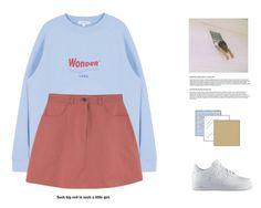 """""""six"""" by leejnki ❤ liked on Polyvore featuring NIKE"""
