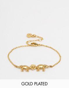 Bill+Skinner+Elephant+Charm+Bracelet
