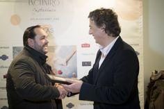 José Sánchez de Grupo Torres con Mario Sequerra (Atlas Gourmet)