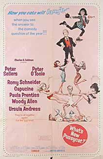Posteritati: WHAT'S NEW, PUSSYCAT? 1965 U.S. 1 sheet (27x41)