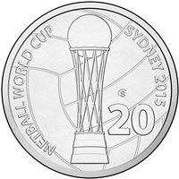 2015 Netball World Cup (S Counterstamp) Netball, Mint, World Cup, Stamp, Sydney, Basketball, World Cup Fixtures, World Championship, Stamps