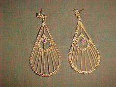 NW-GOLDEN-SPECTACULAR-Earrings-FOR-Sari-Salwar-KAMEEZ-Dress-CHOLI-Outfit-Jewelry
