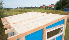 Das Dach - Der krönende Abschluss für das Gartenhaus