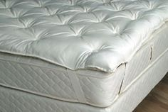 Organic Mattress Topper - Google Search  When sleeping we deserve to rest on a confortable and trustful mattress, and this is the best option for our bodies to rest. A mattress with cero chemicals.
