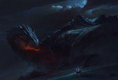 Dragon Island by Bayard Wu   Illustration   2D   CGSociety