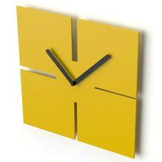 'lines clock' designed by massimo + lella vignelli for botanist