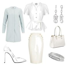 """""""Ice princess outfit"""" by julie-lg on Polyvore featuring River Island, Collectif, Yves Saint Laurent, Vero Moda, Calvin Klein, Givenchy and Kate Spade"""
