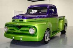 1952 Mercury Custom Pick-Up Truck.