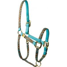 If/When i get my horse it will so have a Blue Giraffe High Fashion Horse Halter
