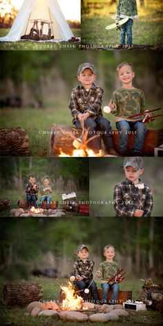 (c) chubby cheek photography campfire mini sessions children photo ideas boys Photography Props Kids, Photography Mini Sessions, Autumn Photography, Family Photography, Camping Photography, Outdoor Children Photography, Child Photography Boy, Brother Photography, Sibling Photography Poses