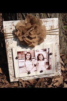 4x6 Barn/Rustic Wood frame with Bead Board and by JMacDesignFrames, $28.00