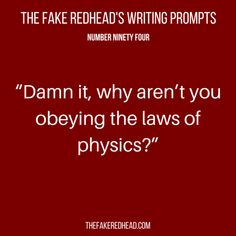 TFR's Writing Prompt 94