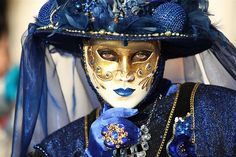And the Lady Wore Blue...     --David Pin, via Flickr