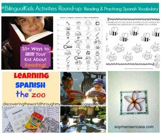 #BilingualKids Activities Round-up: Reading And Practicing Spanish Vocabulary - SpanglishBaby.com