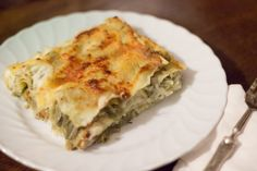 Lasagne Bianche Delicate con Carciofi e Stracchino