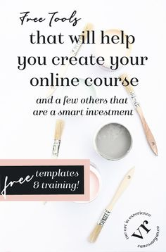Free Tools That Will To Help You Design, Launch and Sell Your Online Course – Money Digital Marketing Strategy, Online Marketing, Business Tips, Online Business, Best Online Courses, Free Courses, Online Programs, Make Money Blogging, Product Launch