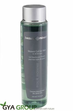 Beauty Mineral Dead Sea Shower Gel for Men suitable to all skin types