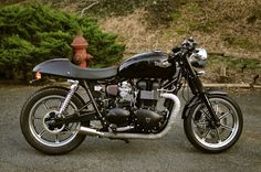 Triumph Bonneville Solo Seat | ... you like Mag Wheels then go for an SE and swap out the bars and seat