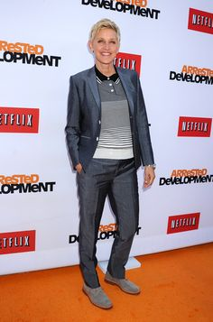 "Ellen DeGeneres arriving to the premier of ""Arrested Development"" in Hollywood, California - April 29, 2013 - Photo: Runway Manhattan/AFF"