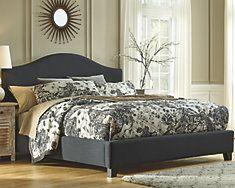 Kasidon Queen Camelback Bed