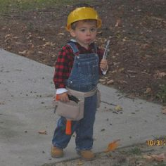 Bob The Builder Toddler Halloween Costume
