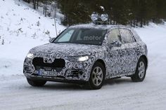 2017 Audi Q5 Was Seen Being Tested | Car Spy Photos