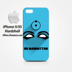 Dr Manhattan Superhero iPhone 5 5s Hardshell Case