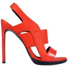 Zoe Wittner Design | Ramira Orange Heels