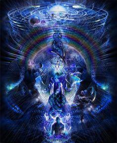 Cosmic Ascension Archival Print