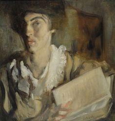 487. Balla, Giacomo - 1902-03 - Donna con il libro