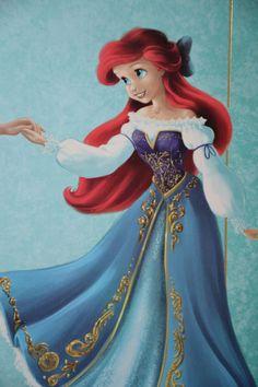 Disney Cosplay -- The Little Mermaid - Ariel Cosplay Costume Version 05