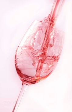 Pouring Rose by Benn