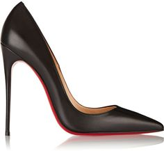 Christian Louboutin So Kate 120 leather pumps