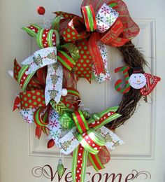 Deluxe Red Green and White Christmas Holidays by NicoleDCreations