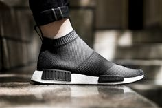 adidas originals nmd city sock black white closer look