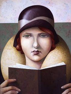 O cão que comeu o livro...: As leitoras de Fabio Hurtado / Women reading by Fabio Hurtado