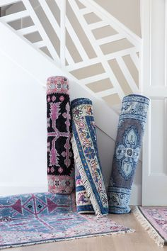 pretty, pretty rugs from Caitlin Wilson Design