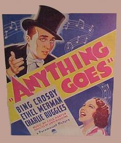 Cole Porter Anything Goes. Musical