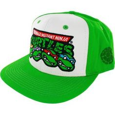 Teenage Mutant Ninja Turtles Faces Snapback Cap Men s Hats 2948fc511d76