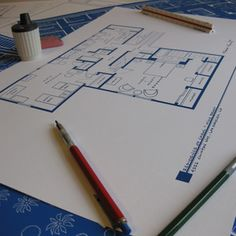 Blueprints of famous TV homes -- here is the residence of Carol and Mike Brady