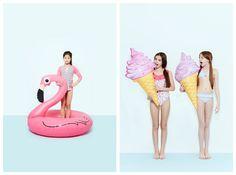 Featurekins // Summer Symmetry | Babiekins Magazine kids fashion photographer, alix martinez