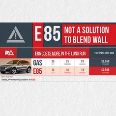 The driver of an Audi Q5 can expect to pay $1,050 more with E85 than with gasoline.