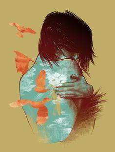 Taken from http://lacarpa.tumblr.com/page/6 #beautiful #art