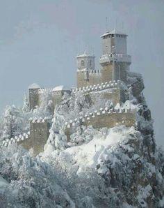 San Marino Italy Castle!