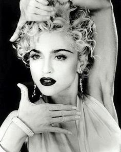 """""""Don't just stand there let's get to it. Strike a pose, there's nothing to it."""" Madonna - Vogue"""