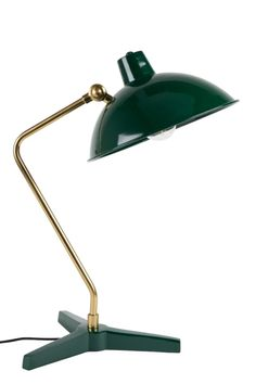 Office Lamp, Office Decor, Bankers Desk Lamp, Black Desk Lamps, Green Desk, Wood Arch, Traditional Table Lamps, Tripod Table Lamp, Task Lamps
