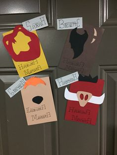 The Lion King Door Decs #RA #TheLionKing #DoorDecs