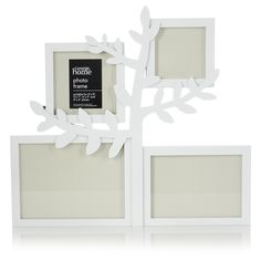 George Home White Tree Aperture Photo Frame | Frames & Albums | ASDA direct