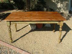 Harvest Plantation Farm Table  Handmade with by ArcadianCottage